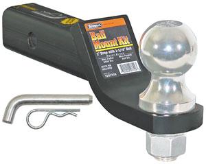 Buyers Black Ball Mount Kit