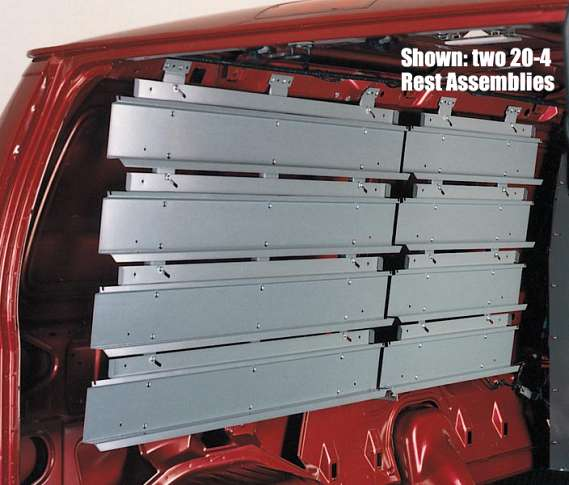 "REST ASSEMBLY/4-ROW/51""/FSV"