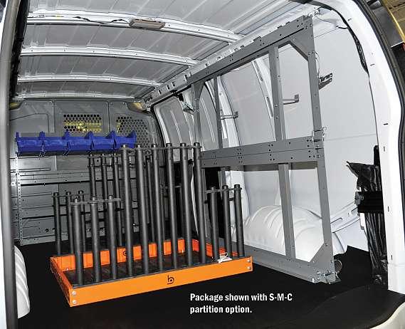 Adrian Steel Auto Glass Storage Station