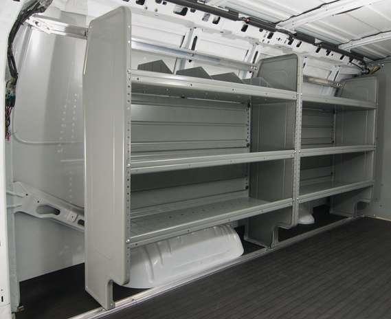 "Adrian Steel Commercial Starter Package, Gray, Express, Savana, 155"""