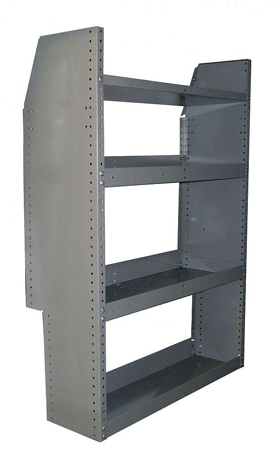 "Adrian Steel 3-Shelf Unit 12""D, 32""W, 46"""