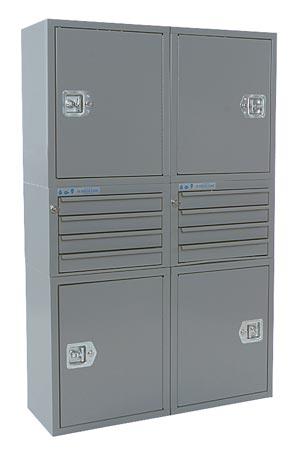 """Adrian Steel Cabinet & Drawer Module 36"""" W, 56"""" H, 12"""" D"""