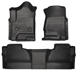 Husky Liners Chevy 2500 Crew Cab Front & Rear Husky