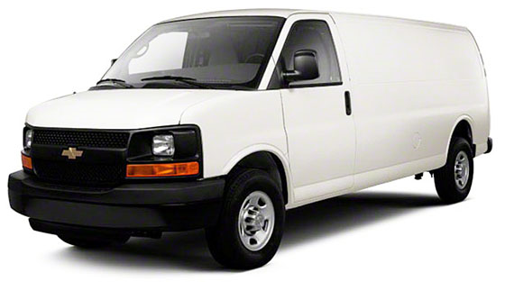 GM Full Size Van Trade Packages