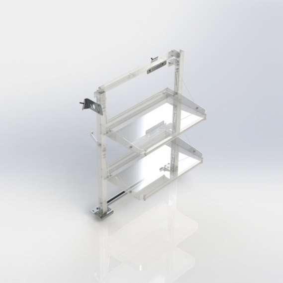 Ranger Design Fold-Away install kit, driver, NV200