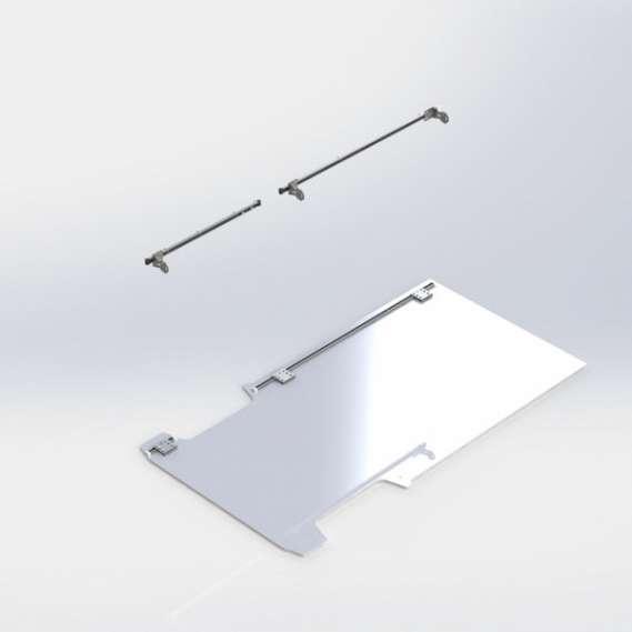 Fold-Away install kit, driver, ProMaster