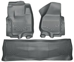 Husky Liners Ford F-350 Crew Cab Front & Rear