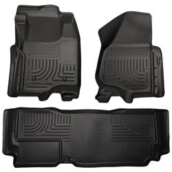 Husky Liners Ford F-350 Super (Extended) Cab Front & Rear