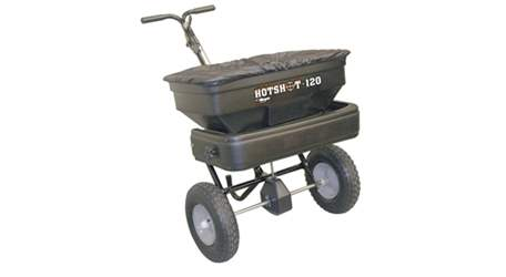 Meyer Walk Behind Spreader Hotshot-120