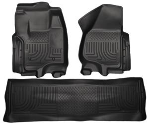 Husky Liners Ford F-250 Crew Cab Front & Rear