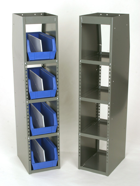 Adrian Steel Welded 4-Shelf Unit Adjustable shelf rack