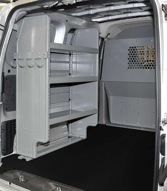 Adrian Steel Dual Shelf Starter Package, Gray, City Express, NV200