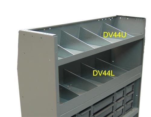 Adrian Steel Divider Kit for Welded Shelving