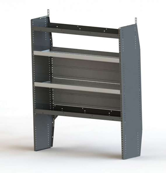 HYBRID SHELF UNIT, 14 X 59 X 50 WIDE