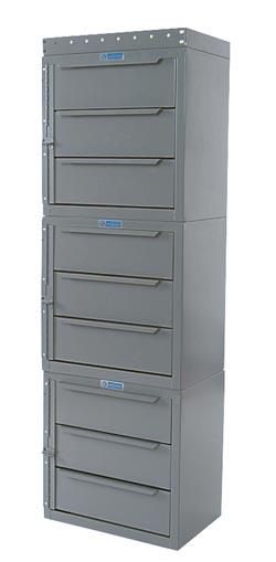 """Adrian Steel Cabinet & Drawer Module 18"""" W, 56"""" H, 12"""" D"""