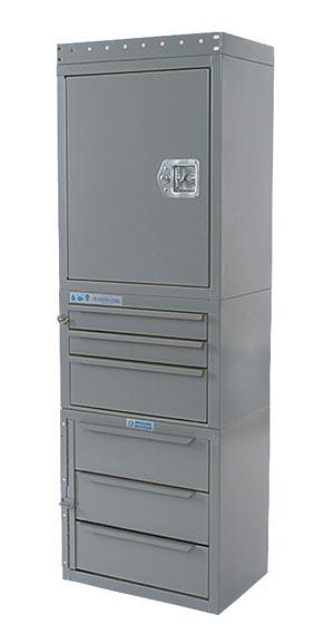 """Adrian Steel Cabinet & Drawer Module 18"""" W, 54"""" H, 12"""" D"""