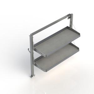Ranger Design Fold-Away Cargo Van Foldable Shelving System