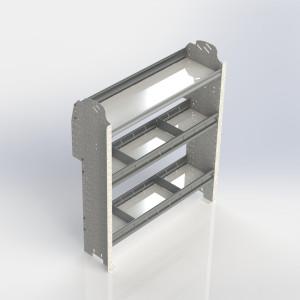 Shelf unit, contoured, Connect