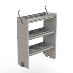 Shelf unit, square back